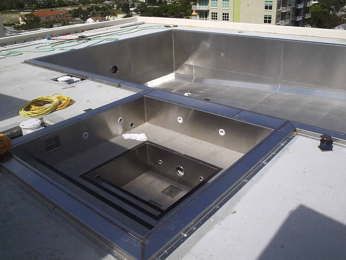 Stainless Steel Spas & Pools Gallery - Superior Swim Systems