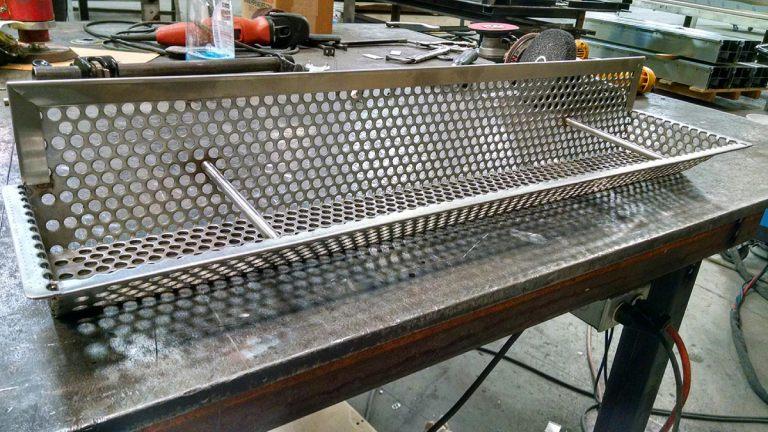 Custom Stainless Steel Transition Basket